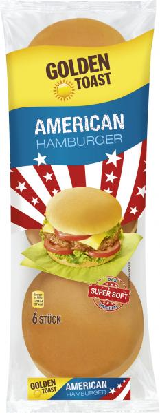 Golden Toast American Hamburger