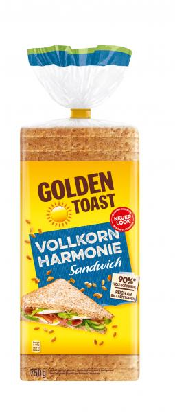 Golden Toast Vollkorn Harmonie Sandwich