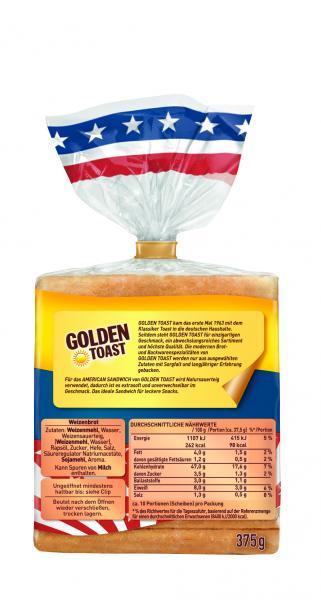Golden Toast American Sandwich