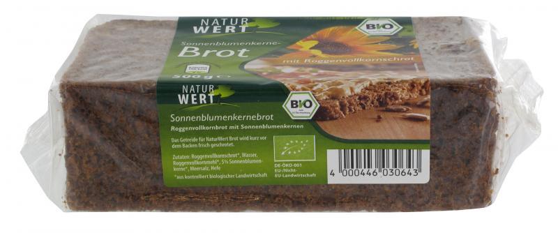 NaturWert Bio Sonnenblumenkernbrot