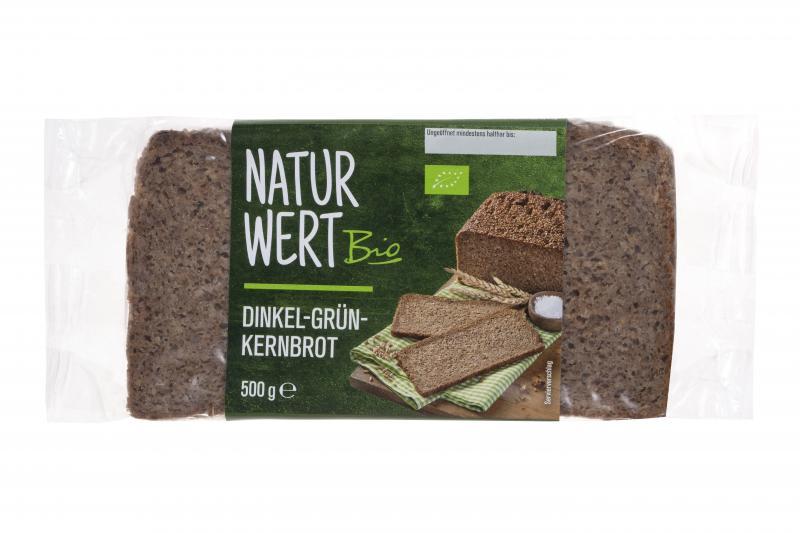 NaturWert Bio Dinkel-Grünkernbrot