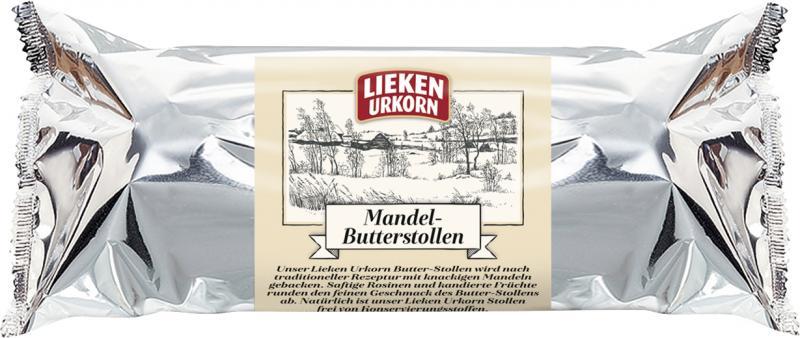 Lieken Urkorn Mandel-Butterstollen