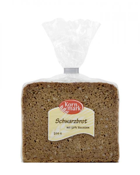Kornmark Schwarzbrot