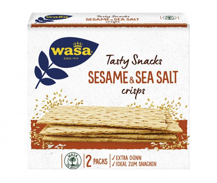Wasa Knäckebrot Delicate Crisp Sesam & Meersalz