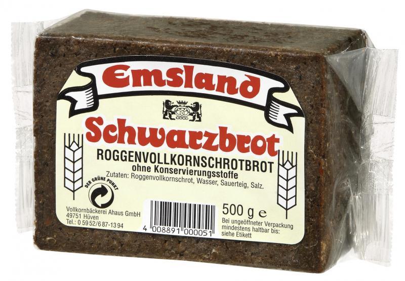 Emsland Schwarzbrot