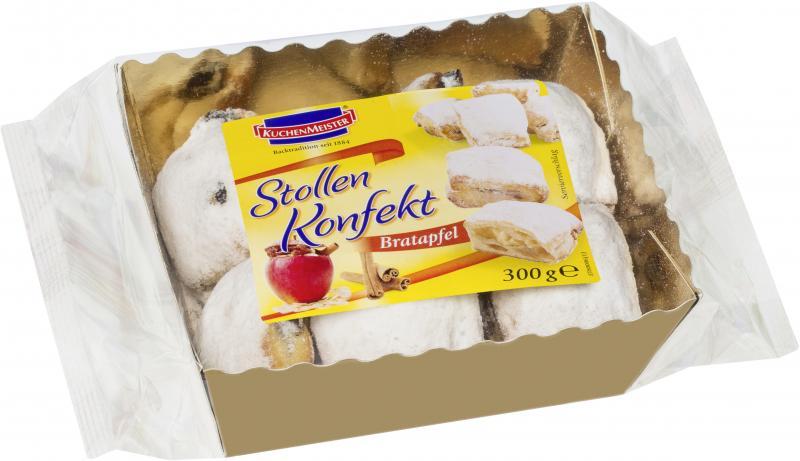 Kuchenmeister Stollen Konfekt Bratapfel