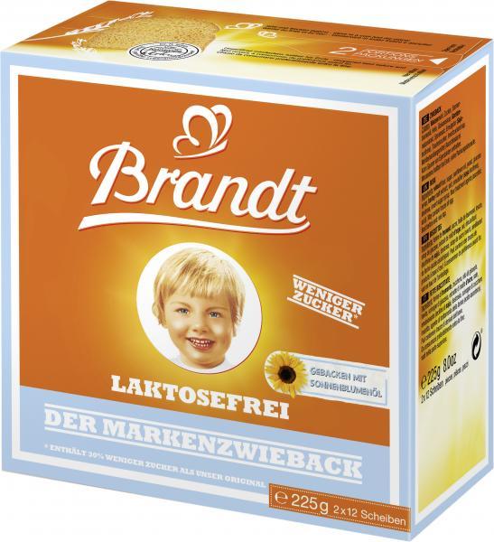 Brandt Der Markenzwieback laktosefrei