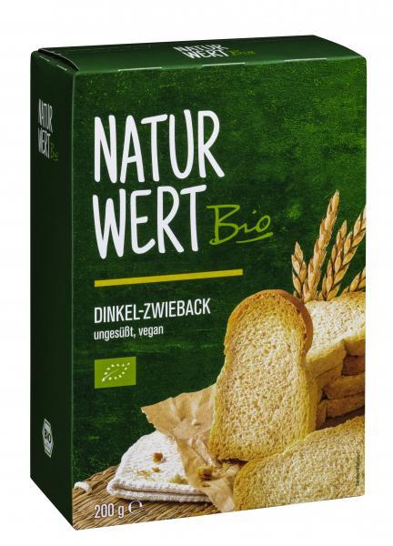 NaturWert Bio Dinkel Zwieback