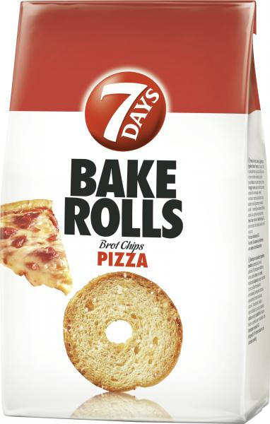 7 Days Bake Rolls Brot Chips Pizza