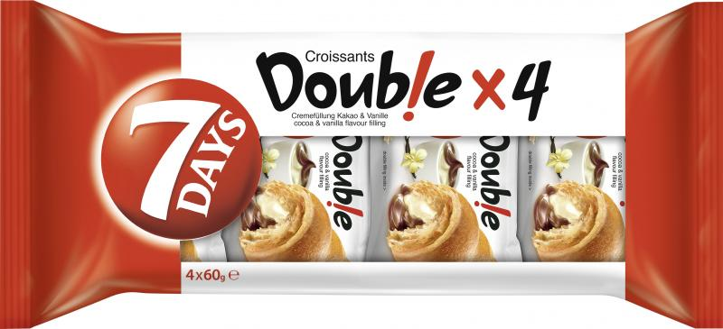 7 Days Double Croissant Kakao & Vanille