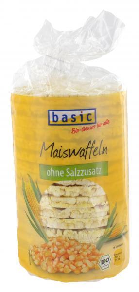Basic Maiswaffeln ohne Salzzusatz