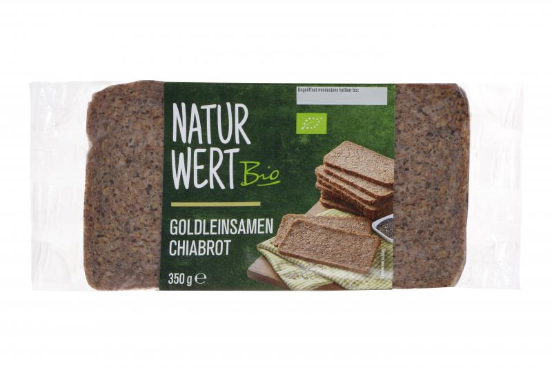 NaturWert Bio Goldleinsamen Chiabrot