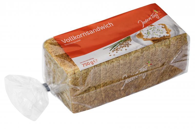 Jeden Tag Sandwich Vollkorn