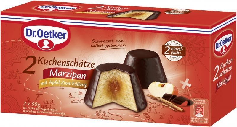 Dr Oetker Kuchenschatze Marzipan Mit Apfel Zimt Fullung Online