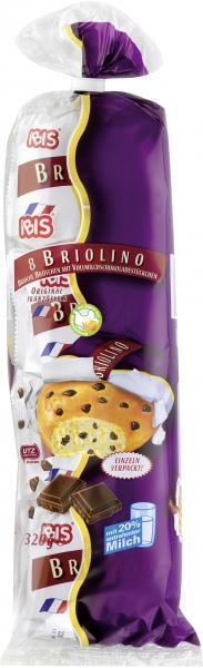 Ibis 8 Briolino Brioche Brötchen mit Vollmilchschokolade