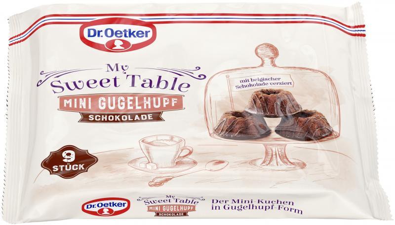 Dr. Oetker My Sweet Table Mini Gugelhupf Schokolade