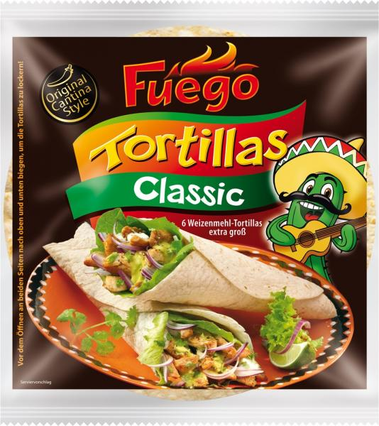 Fuego Tortillas Wraps Classic