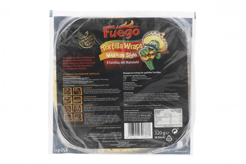 Fuego Tortillas Mexican Style
