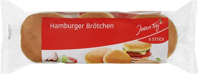 Jeden Tag Hamburger Brötchen
