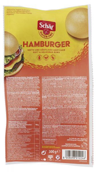 Schär Hamburger-Brötchen