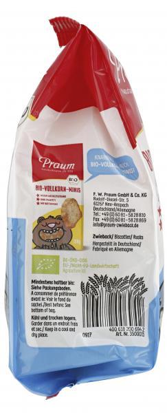 Praum Bio-Dinkel-Zwieback Minis