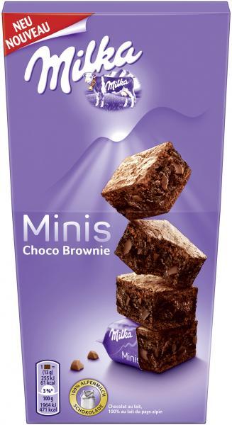 Milka Minis Choco Brownie