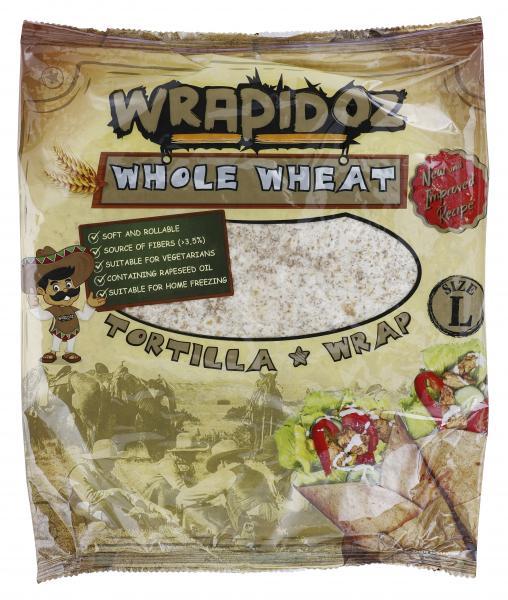 Wrapidoz Vollkorn Tortilla Wraps