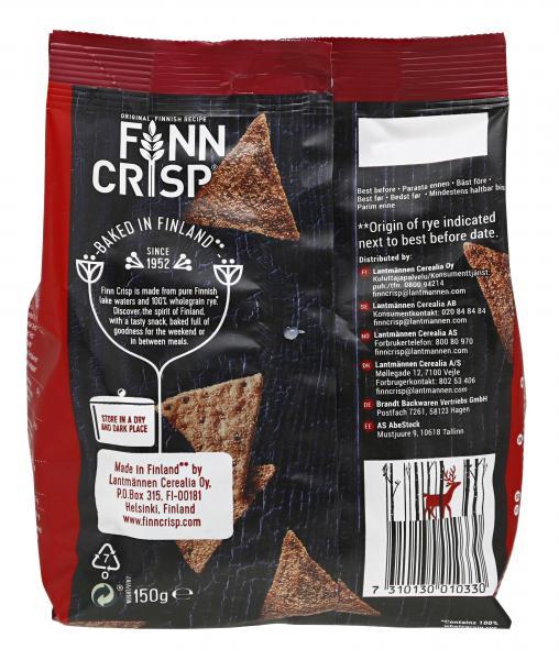 Finn Crisp Snacks Roasted Peppers & Chipotle