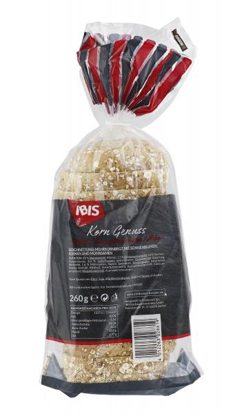 Ibis Korn Genuss Dinkel- Sonnenblumenkerne-Mohn