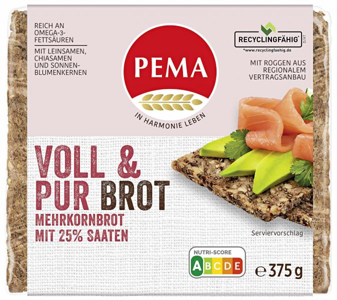 Pema Voll & Pur Mehrkornbrot