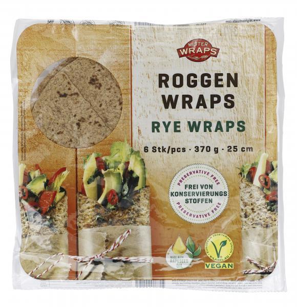 Mister Wraps Roggen Wraps