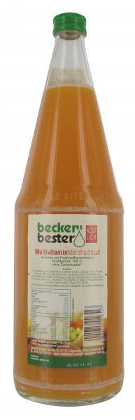 Becker's Bester Multivitamin Mehrfruchtsaft (Mehrweg)