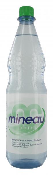 Mineau Mineralwasser medium (Mehrweg)