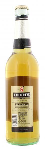 Beck's Gold (Mehrweg)