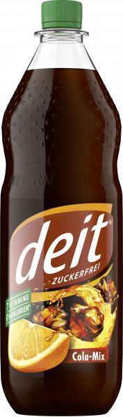 Deit Cola Mix zuckerfrei (Mehrweg)