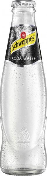 Schweppes Soda Water (Mehrweg)