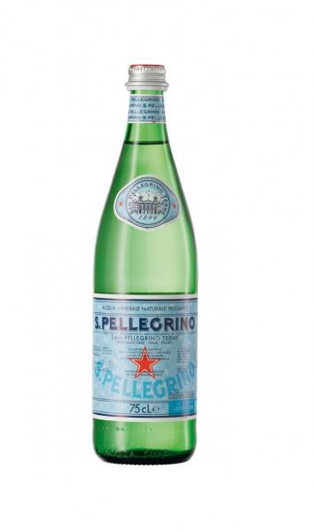 San Pellegrino Mineralwasser naturale frizzante (Mehrweg)