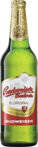Budweiser Budvar Czech Imported Lager (Mehrweg)
