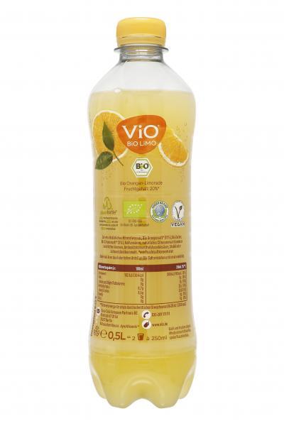Vio Bio Limo Orange (Mehrweg)