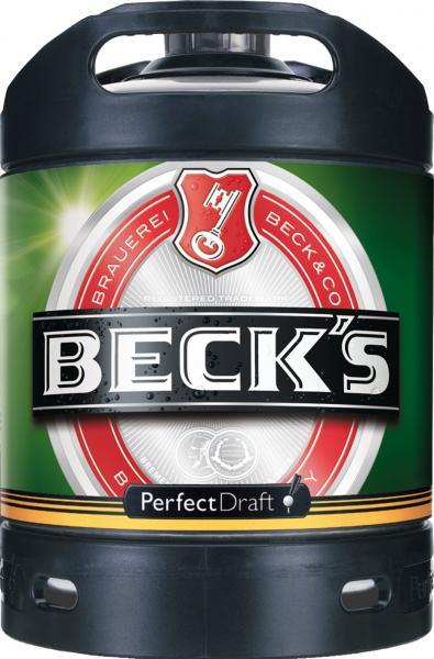 Beck's Perfect Draft Partyfass (Mehrweg)