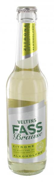Veltins Fassbrause Zitrone (Mehrweg)