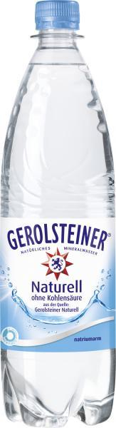 Gerolsteiner Mineralwasser naturell (Mehrweg)