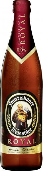 Franziskaner Weissbier royal (Mehrweg)