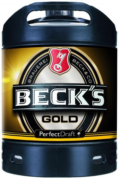 Beck's Gold Perfect Draft Partyfass (Mehrweg)