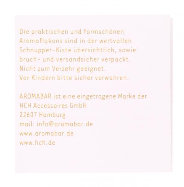 Aromabar Schnupperdose Rotwein-Aromen (Mehrweg)