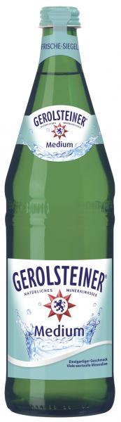 Gerolsteiner Mineralwasser medium (Mehrweg)