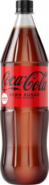 Coca Cola Coke Zero Sugar (Mehrweg)