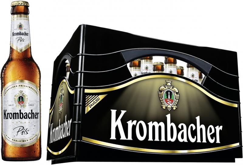 Krombacher Pils (Mehrweg)