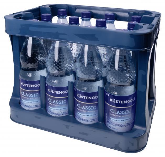 Küstengold Mineralwasser Classic PET (Mehrweg)
