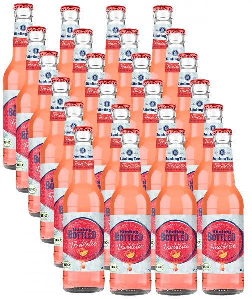 Bünting Bottled Früchtetee Erdbeer & Orange (Mehrweg)